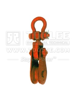 300 2811 21 Champion Snatch Block With Shackle Single Sheave 421