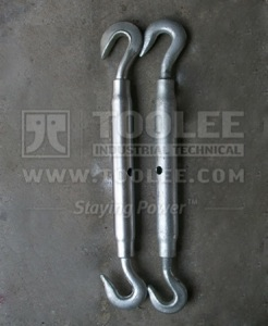 300 6333 Turnbuckle DIN1478 Hook Hook