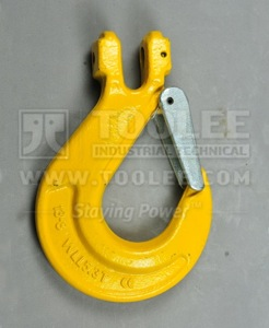 300 1222 Sling Hook Clevis Type with Safety Latch G80