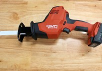 Hilti 12V Reciprocating Saw Review - First Look