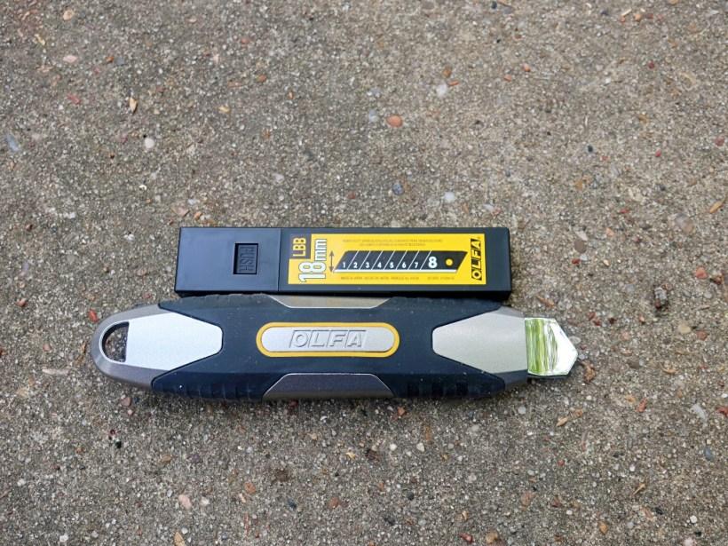 OLFA MXP Utility Knife - First Look