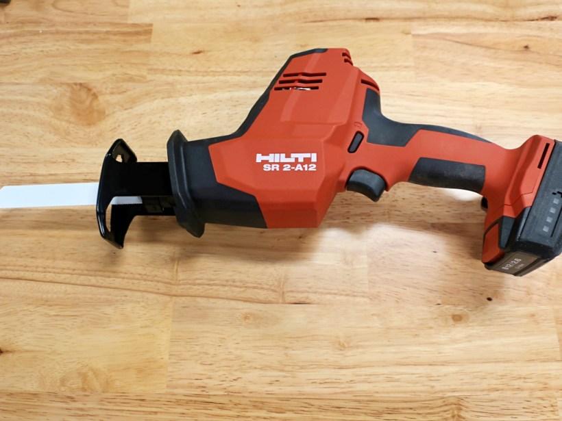 Hilti 12V Reciprocating Saw Review