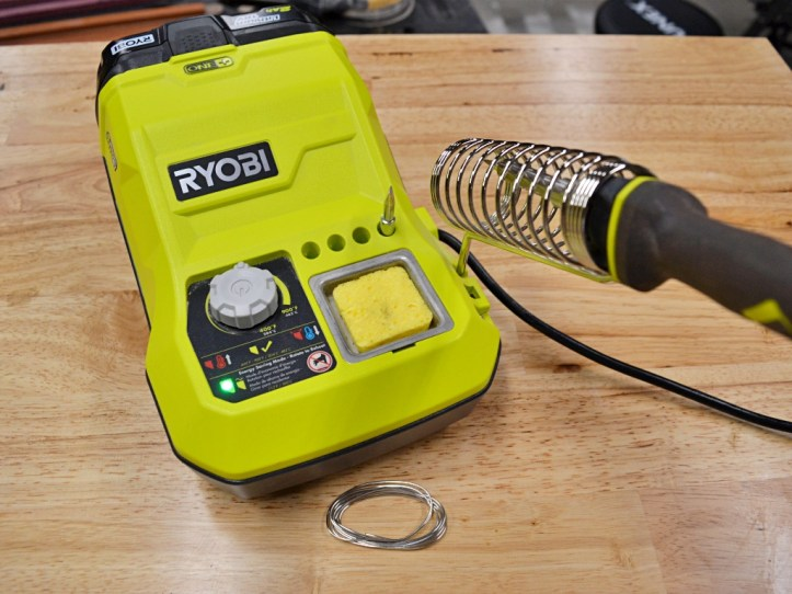 Ryobi Cordless Soldering Station Review