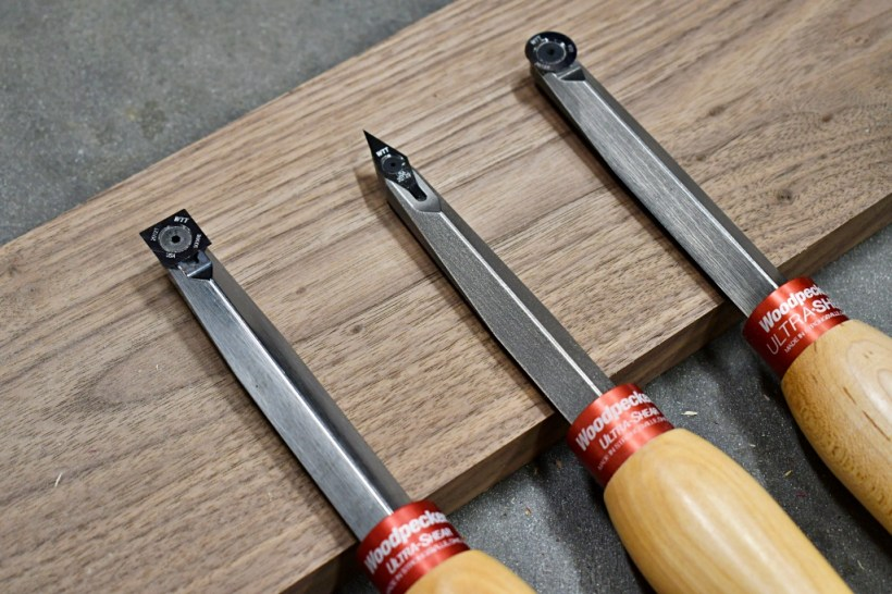 Woodpeckers Ultra-Shear Turning Tools Review