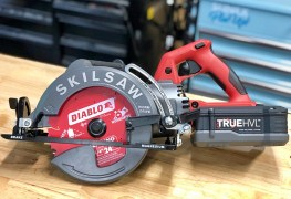 New Skilsaw Cordless Wormdrive Saw