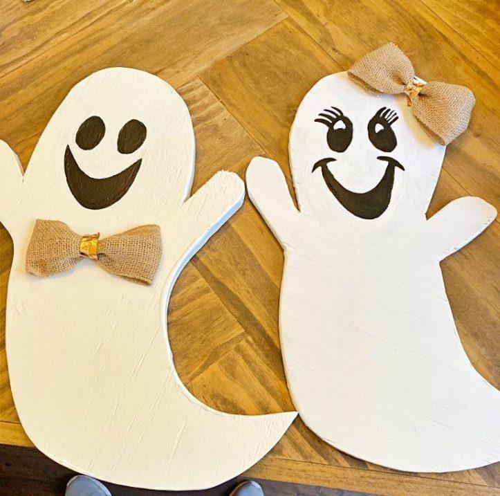 DIY Ghost Decor