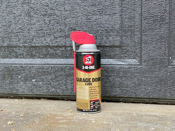 Garage Door Maintenance with 3-IN-ONE® Brand