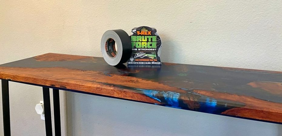 Epoxy Work with T-REX Brute Force Duct Tape