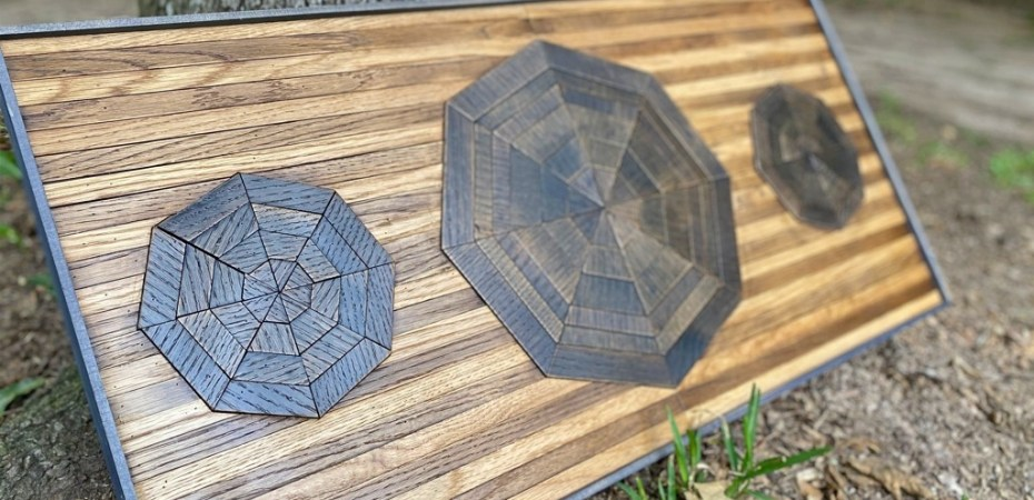 Wood Mosaic Wall Art - How To