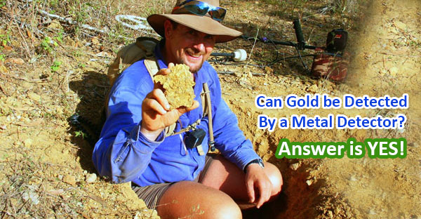 Can gold be detected by a metal detector featured image