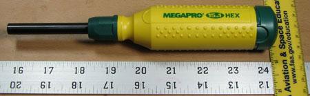 Megapro Driver Dimensions