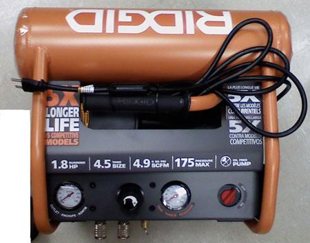Ridgid Compressor Controls