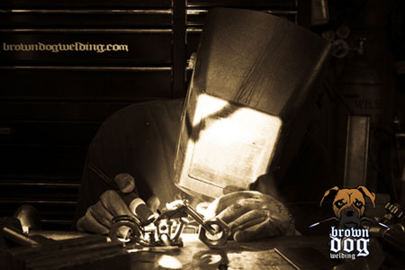 Brown-Dog-Welding-Action-Photo
