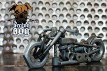 Brown Dog Welding Chopper