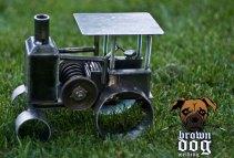 Brown Dog Welding Tractor