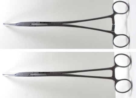 Gearwrench Double-X Hemostats Open vs Closed
