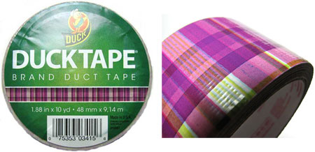 Plaid-Duck-Duct-Tape