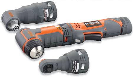 Kobalt Tools Review >> Ridgid JobMax Right Angle Drill, Impact Driver, Ratchet!