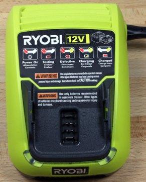 Ryobi-Auto-Hammer-12V-Charger