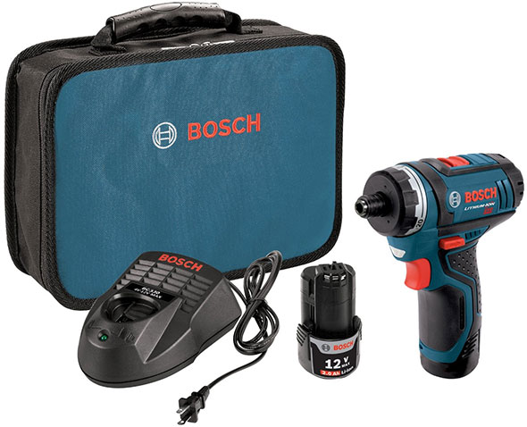 Bosch 12v Max Two speed Pocket Driver Kit