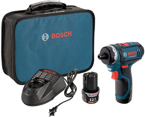 Bosch PS21-2A Cordless Screwdriver Kit