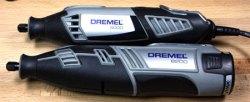 Dremel 8200 vs 4000 Rotary Tool Size Comparison