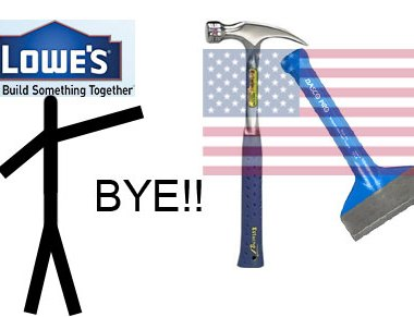 Lowes Says Goodbye to Estwing & Dasco Pro