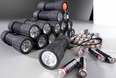 15 LED Flashlights for 15 Dollars