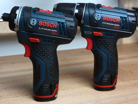 Bosch PS21 & PS31 Cordless Screwdriver & Drill Driver