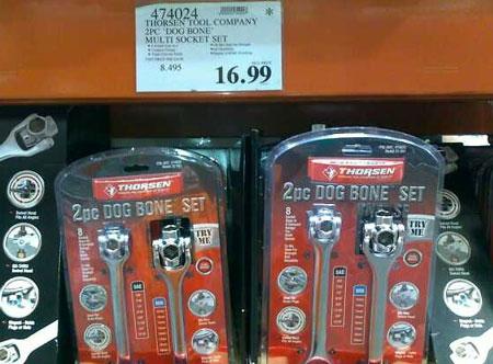 Thorsen Dog Bone Wrench Set