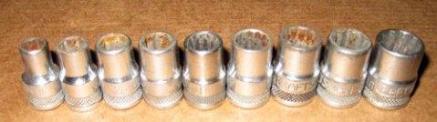 Vintage Craftsman Sockets