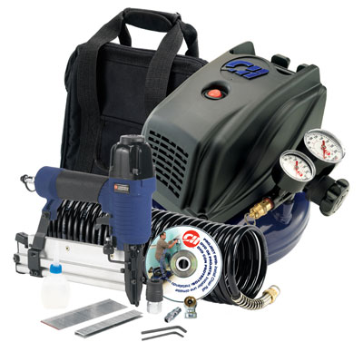Campbell Hausfeld Home Imporvement Air Compressor Kit with Inflation Accessories FP260098