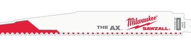 Milwaukee's New Sawzall Ax Blade Design
