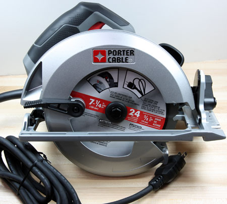 Porter Cable Circular Saw PC15TCSMK Front