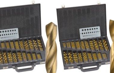 Woodcraft 170 Piece Drill Bit Sets