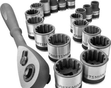 Craftsman Universal Socket Set with Matching Ratchet