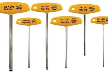 Wiha 54091 6-piece t handle hex driver set