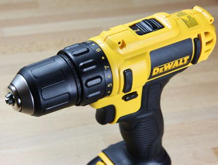 Dewalt 12V Max Cordless 3-8 Drill Driver DCD710S2 Angled