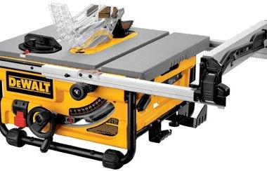 Dewalt DW745 10 Inch Contractor Jobsite Table Saw