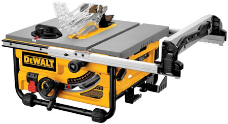 Dewalt DW745 10 Inch Contractor Jobsite Table Saw