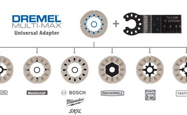 Dremel Multi-Max Oscillating Tool Universal Adapter
