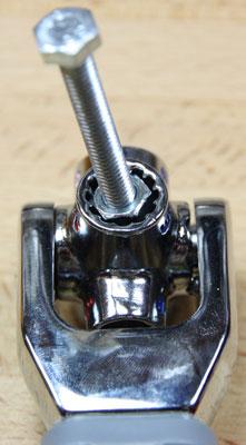 Kobalt Multi Drive Wrench Metric Socket M6 Bolt Test Leaning