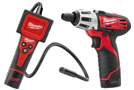 Milwaukee M12 Inspection Camera and Screwdriver Combo Kit