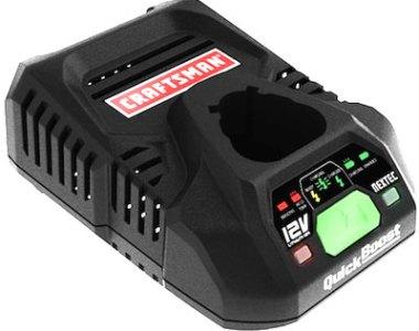 Craftsman QuickBoost Nectec 12V Battery Charger
