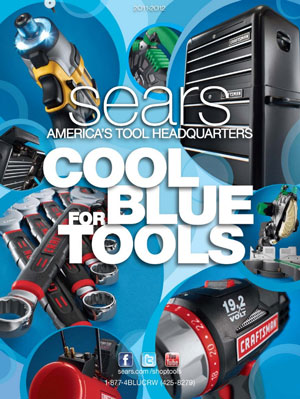 Craftsman and Sears Tool Catalog 2011-2012