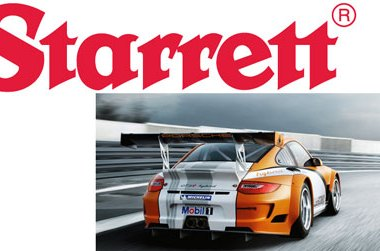 Starrett and Porche Motorsports North America Partnership