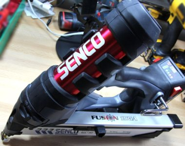 Senco Fusion Finish Nailer Barrel View