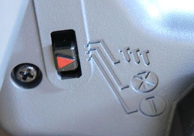 Senco Fusion Finish Nailer Single or Bump Nail and Power Off Selection