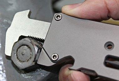 PocketToolX Wrex Titanium Adjustable Pocket Wrench