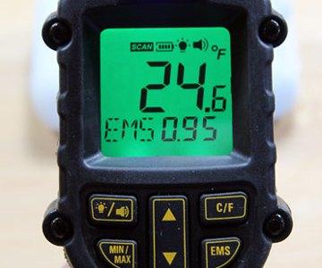 Dewalt 12V Max Infrared Thermometer Cold Alarm